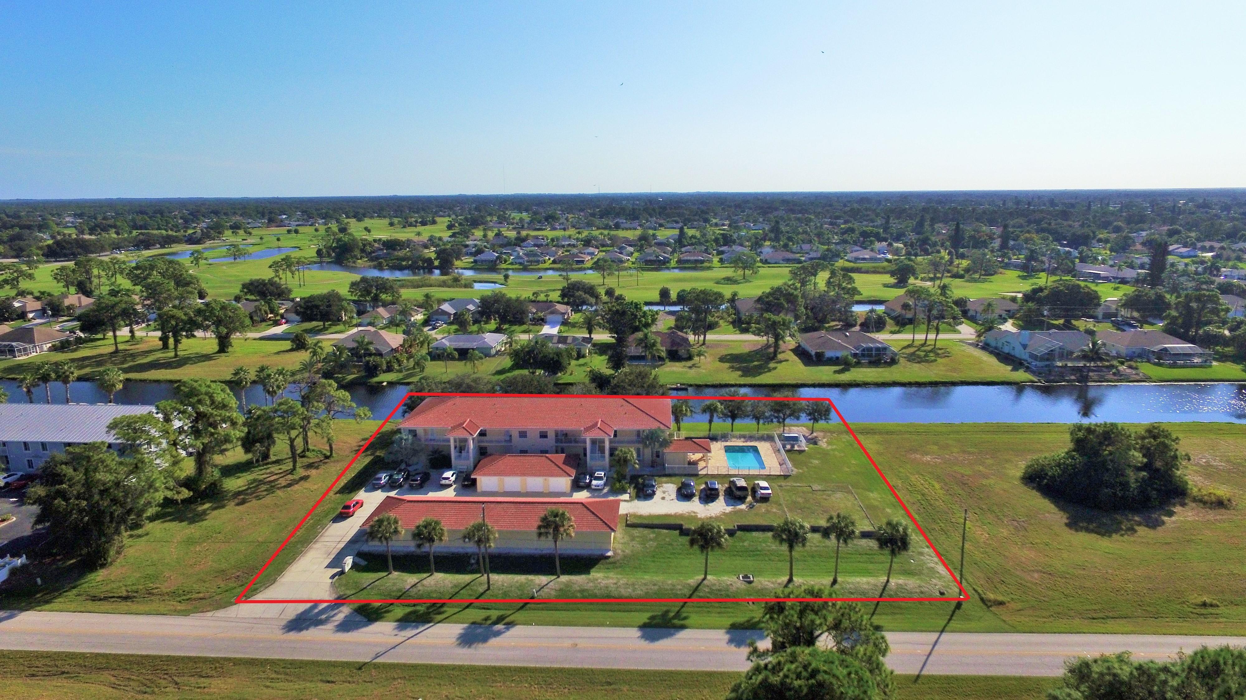 Just Sold! 8 Unit Apartment Building in Rotonda West Florida