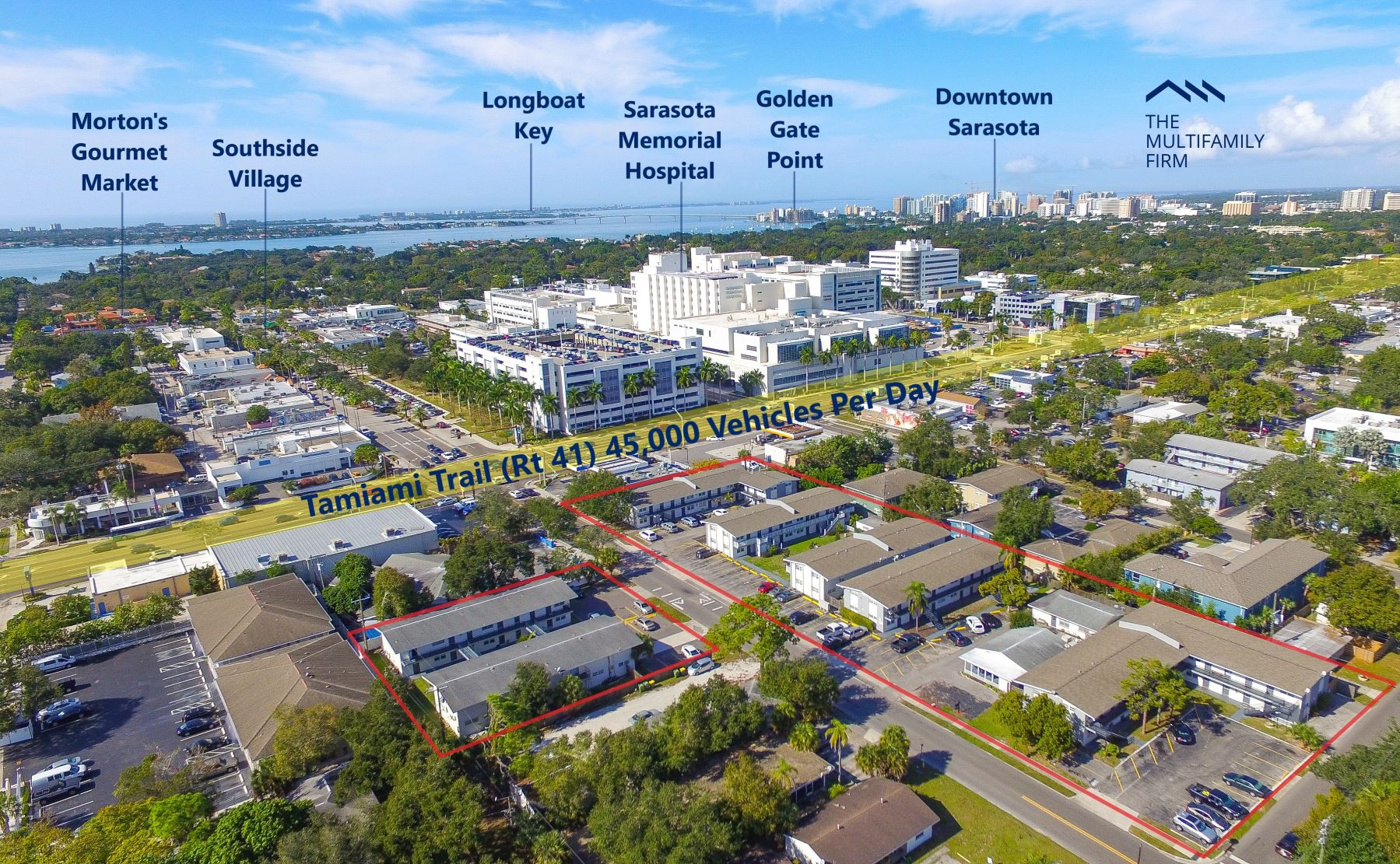 The Multifamily Firm Markets 106-Unit Apartment Complex Portfolio in Sarasota